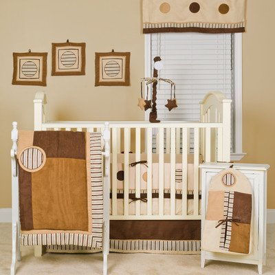 Striped Crib Bumper front-995822