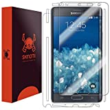 Skinomi® TechSkin - Samsung Galaxy Note Edge Screen Protector + Full Body Skin Protector with Free Lifetime Replacement Warranty / Front & Back Premium HD Clear Film / Ultra High Definition Invisible and Anti-Bubble Crystal Shield - Retail Packaging