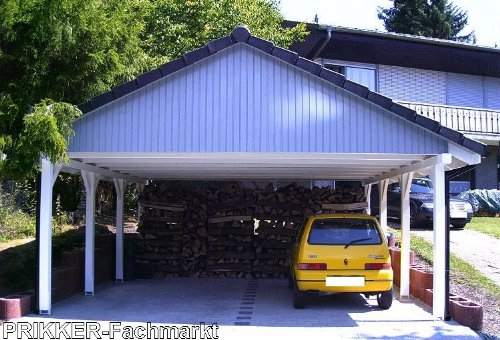 carport satteldach sunshine i solar 600x600cm kvh holz satteldachcarport solarcarport garten. Black Bedroom Furniture Sets. Home Design Ideas