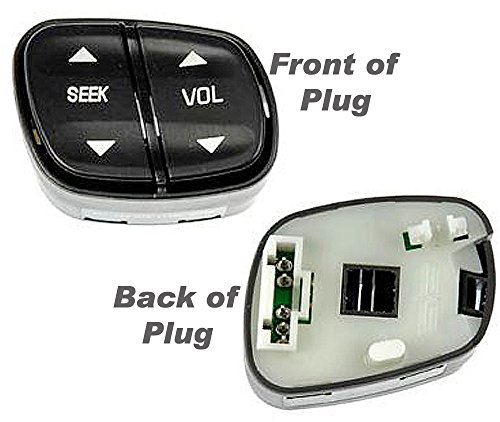 APDTY 012234 Stereo Volume/Radio Station Control Buttons/Switch, Steering Wheel Mounted Seek and Vol, Replaces OEM Number 1999443 (2003 Yukon Steering Wheel compare prices)