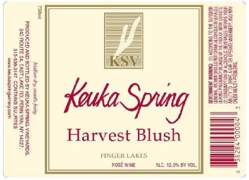Nv Keuka Spring Vineyards Finger Lakes Harvest Blush 750 Ml