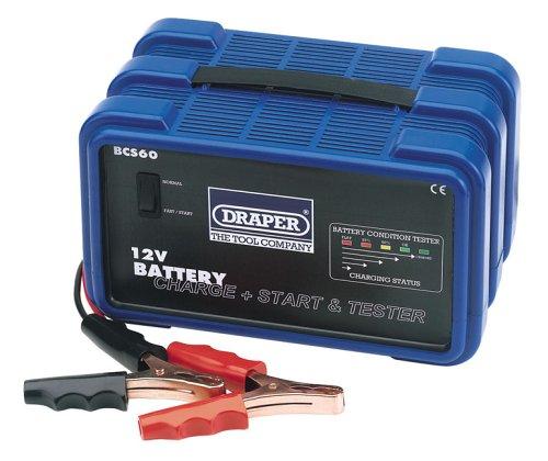 Draper 66801 12V Battery Starter Charger Tester