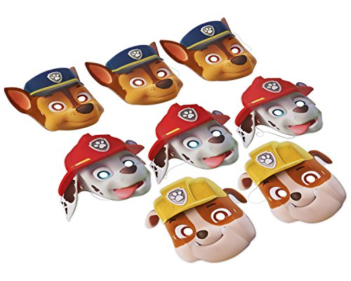American Greetings PAW Patrol Masks, Party Supplies (8 Count) - 1