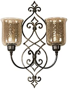 Uttermost Sorel Double Wall Sconce