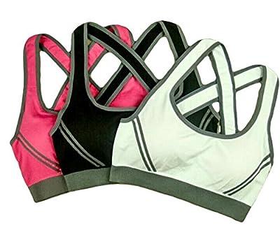 Sports Bra 3 Pack High Impact -Kalos Athletikos -Women's Athletic Wear