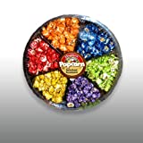 6-section Rainbow Assorted Flavored Popcorn image