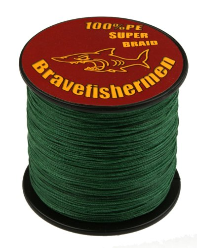 Dark Green super strong PE braided fishing line (1000M, 30LB) (30 Lb Fishing Line compare prices)