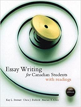 Essay writing for canadian students stewart