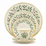 Lenox Holiday Twelve 5 Pc Place Settings