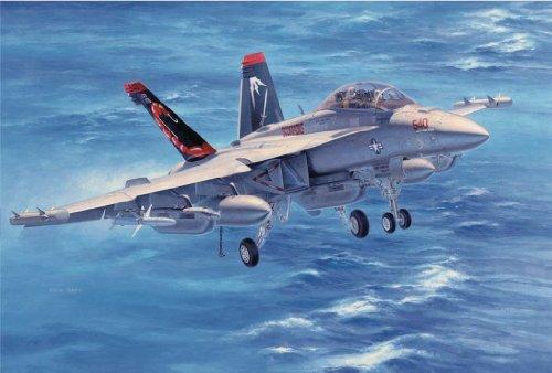 1/48 Scale EA-18G Growler VAQ-132 Scorpions Construction Plastic Model Kit