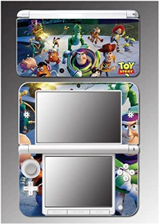 Toy Story 3 Woody Buzz Lightyear Barbie Jessie Video Game Vinyl Decal Cover Skin Protector 2 Nintendo 3DS XL