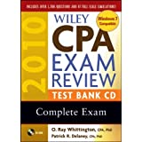 Wiley CPA Exam Review 2010 Test Bank CD - Complete Set ~ Patrick R. Delaney