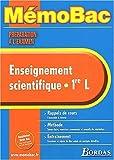 echange, troc Christian Robert, Jacques Cauwet - MEMO PREPA EXAM ENSEIGN. SCIENT.1ERE L    (Ancienne Edition)