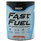 RSP Nutrition Fast Fuel Supplement, Orange, 256.5 Gram
