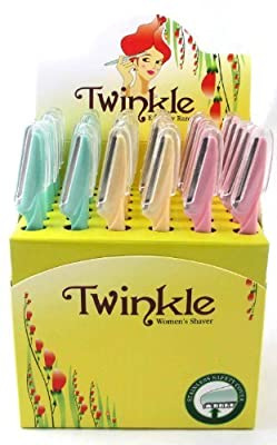 Best Cheap Deal for TWINKLE (Not Tinkle) Eyebrow Shaver Razor 36 Razors by TWINKLE [Beauty] from Tinkle - Free 2 Day Shipping Available