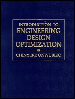 introduction  engineering design optimization chinyere onwubiko  amazoncom books