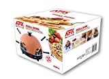 Pizzadome Pizzadom Pizzaofen Backofen Pizzabackstein Pizzabackofen Pizza Ofen für 4 Person -