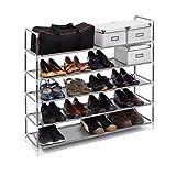 Relaxdays-Schuhregal-mit-Griffen-H-x-B-x-T-ca-905-x-87-x-295-cm-Schuhablage-aus-Vlies-Gewebe-mit-5-Ablagen-fr-25-Paar-Schuhe-als-Schuhstnder-und-Schuhschrank-beliebig-erweiterbar-Regal-grau