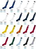 (アディダス)adidas 3ストライプストッキング ジュニア ホワイト/ブラック 22-24 R0082