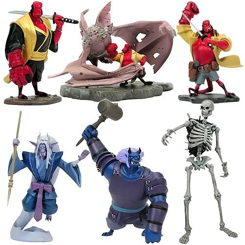 Hellboy Animated Bust-Ups Series 1 Display Box - Buy Hellboy Animated Bust-Ups Series 1 Display Box - Purchase Hellboy Animated Bust-Ups Series 1 Display Box (Gentle Giant, Toys & Games,Categories,Action Figures,Statues Maquettes & Busts)