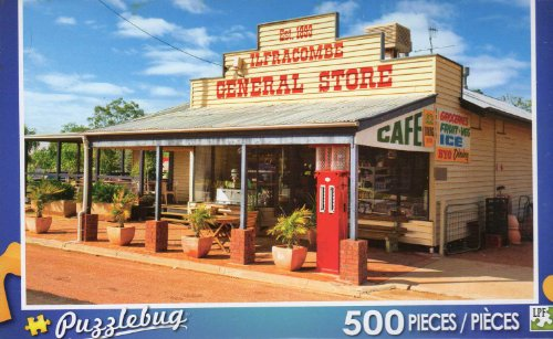 General Store in Ilfracombe Australia - Puzzlebug - 500 Pc Jigsaw Puzzle - NEW - 1