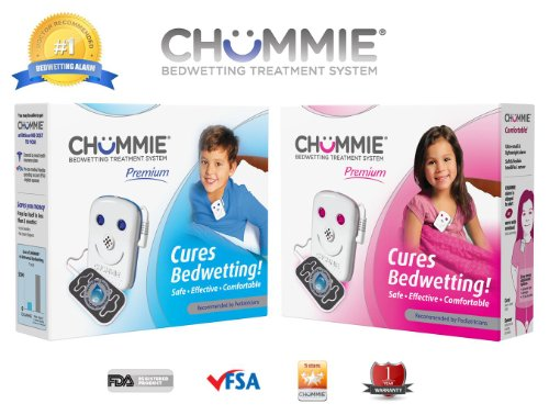 Chummie Premium Bedwetting Alarm (Enuresis Treatment System) With 8 Tones, Vibration, Lights And Volume Control For Boys Tc300B, Blue