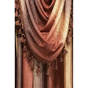 Achim Omsf144At6 - Ombre Scarf Valance - 50 X 144 Inches - Autumn