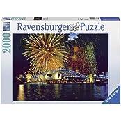 Ravensburger Puzzles Fireworks Sydney, Multi Color (2000 Pieces)