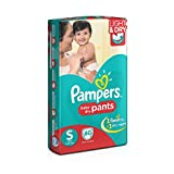 #5: Pampers Small Size Diaper Pants (60 Count)