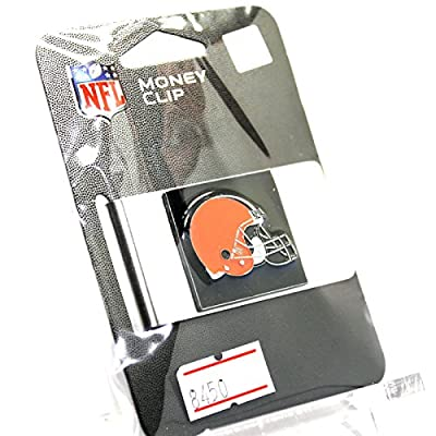 Cleveland Browns S1 Money Clip - Stainless Steel - Sealed Package - New!