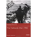 "The Falklands War 1982 (Essential Histories)von ""Duncan Anderson"""