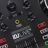 Numark iDJ Live II DJ Controller for Mac PC iPad iPhone and iPod Touch (USB Lightning and 30-pin)