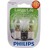 Philips 1157LLB2 1157 LongerLife Miniature Bulb, 2 Pack