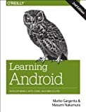 img - for Learning Android: Develop Mobile Apps Using Java and Eclipse book / textbook / text book