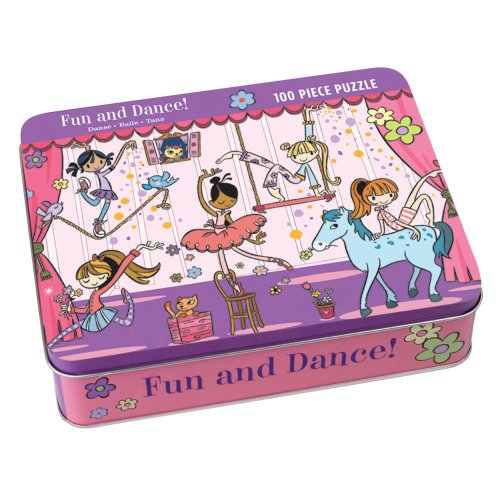 Cheap Mudpuppy Fun and Dance 100 Piece Puzzle Tin (735304548)