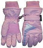 N'ice Caps Girls Colorblocked Thinsulate Ski Glove