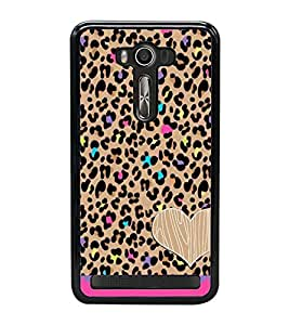 Fuson Premium 2D Back Case Cover Pattern design With Pink Background Degined For Asus Zenfone 2 Laser ZE500KL::Asus Zenfone 2 Laser ZE500KL (5 Inches)