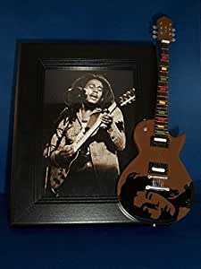 BOB MARLEY Guitar Picture Frame ONE LOVE