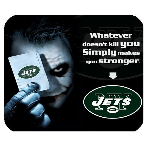 NFL New York Jets With Joker Poker High Quality Printing Rectangle Mouse Pad Design Your Own Computer Mousepad For Christmas Gifts at Amazon.com