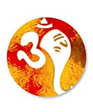 PosterGuy Ganeshji In Om Art Illustration Graphic Design Fridge Magnet