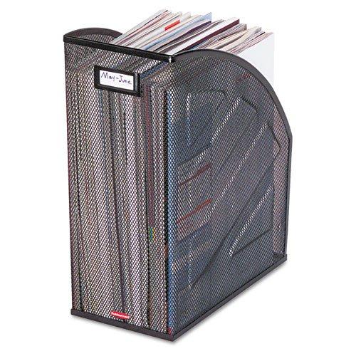 Rolodex Magazine File, Nestable MESH Jumbo Magazine File 5-7/8
