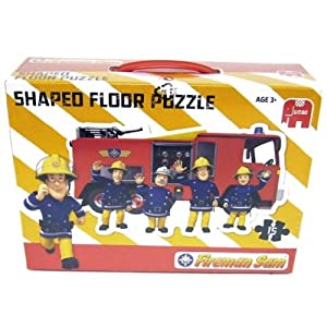 Jumbo Fireman Sam Shaped Floor Puzzle