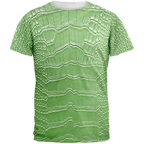Halloween Alligator Costume All Over Adult T-Shirt