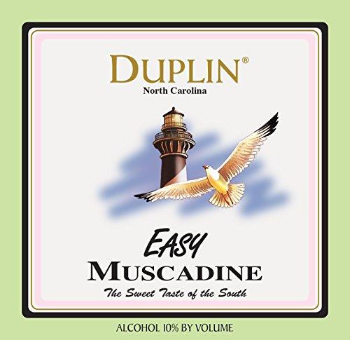 Nv Duplin Wine Cellars Easy Muscadine 750 Ml