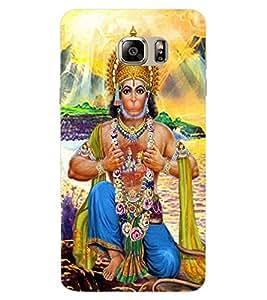 ColourCraft Lord Hanuman Design Back Case Cover for SAMSUNG GALAXY NOTE 7 DUOS