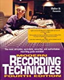 img - for By David Miles Huber - Modern Recording Techniques (4th Edition) (1997-05-16) [Paperback] book / textbook / text book