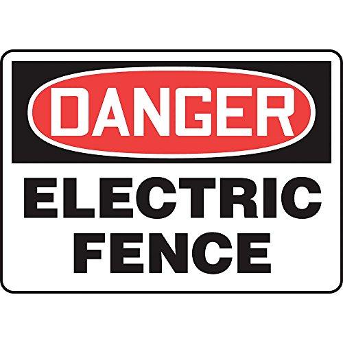 Danger Sign, Adhsv Vinyl, 10X14 In, English Madm033Vs