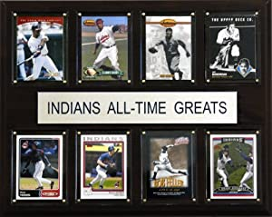 MLB Cleveland Indians All-Time Greats Plaque by C&I Collectables
