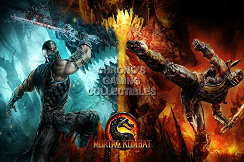 cgc-huge-poster-mortal-kombat-x-subzero-vs-scorpion-ps3-ps4-xbox-360-one-mkx001-24-x-36-61cm-x-915cm