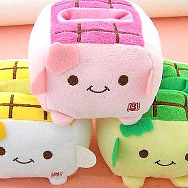 Zcl Kawaii Hannari Tofu Cell Plush Phone Holder Christmas Gift (Ceg1058)